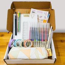 Bullet Dotted Notebook Kit for Beginners: Journal,Bursh Pen,Washi tape, ... - $26.00