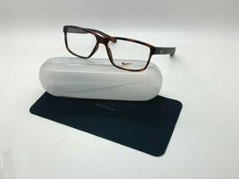 New Nike 7092 200 Tortoise Optical Eyeglasses 57-14-140MM /CASE - $58.17