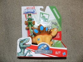 Playskool Heroes JURASSIC WORLD TRACKER STEGOSAURUS DINOSAUR NEW - $18.69