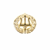 Mini Genuine U.S Navy Badge: Command Ashore Gold Breast Badge Pin Insignia - $15.82