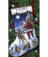 Santa's Arrival Stocking Kit counted cross stit... - $19.80