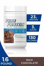 Pure Protein Powder, Natural Whey, High Protein, Low Sugar, Gluten Free, Rich... - $30.25