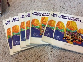 Music For The Young Church Book 2 Lot Of 7 Total - $17.09