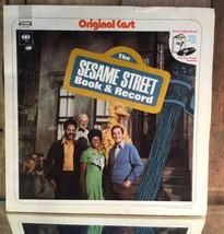 The Sesame Street Book & Record 1970 Columbia CS 1069 - $53.01