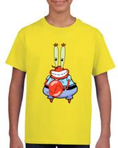 Sponge Bob Mr Krabs Classic Vintage Throwback Cartoon Nickelodeon Shirt ... - $18.99+