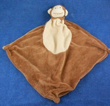Angel Dear Brown Monkey Lovey Security Blanket Baby Toy Plush Knotted Co... - $11.88
