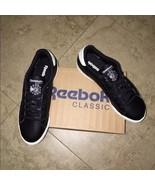 Reebok NPC II Casual Sneakers Black/White Size 7 - $55.10