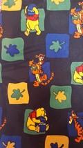 Disney Winnie the Pooh Necktie Tigger Honeypots Fall Leaves Print Black ... - $9.49