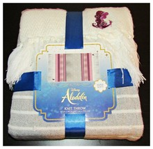 Aladdin Throw Blanket 50x60 Smooth Soaring Magic Carpet Disney NEW - $19.98