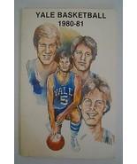 Vintage Basketball Media Presse Guide Yale Université 1980 1981 - $37.98