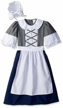 RG Costumes Colonial Peasant Girl, Child Medium/Size 8-10 - $35.37