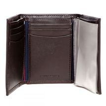 Tommy Hilfiger Men's Premium Leather Credit Card ID Wallet Trifold 31TL11X033 image 14
