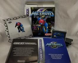AUTHENTIC!! Complete(CIB) Metroid Fusion PAL (Nintendo Game Boy Advance,... - $84.15