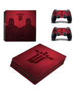 Wolfenstein The New Order ps4 pro edition skin decal for console and co - $19.14 CAD