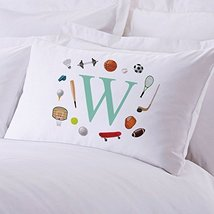 Personalized Direct Personalized Kids Initial Sports Pillow Case - $8.99