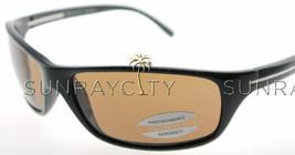 Serengeti Pisa Shiny Black Polarized Drivers Sunglasses 6823 - $236.61