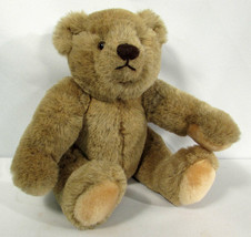 Vintage Teddy Bear Jointed 1982 Gund Bialosky 11 Inches - $12.86