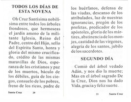 Novena en Honor a La Santa Cruz image 3