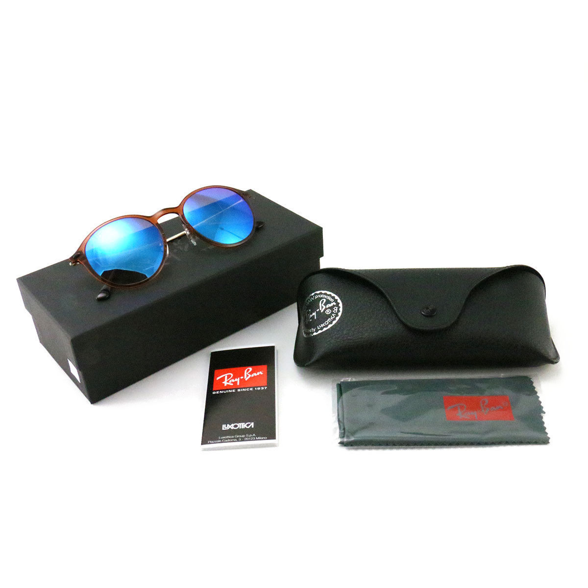 9aedbe30b3953 Ray-Ban LightRay Sunglasses RB4224 Brown and 40 similar items