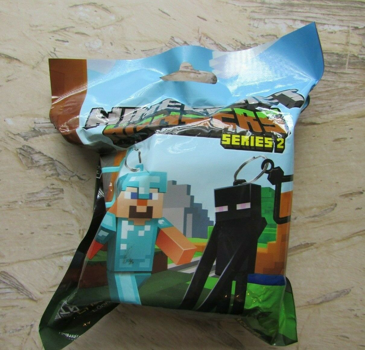Primary image for Minecraft Hanger Keychain (1Pc Random Unopened Pack) - Series 2