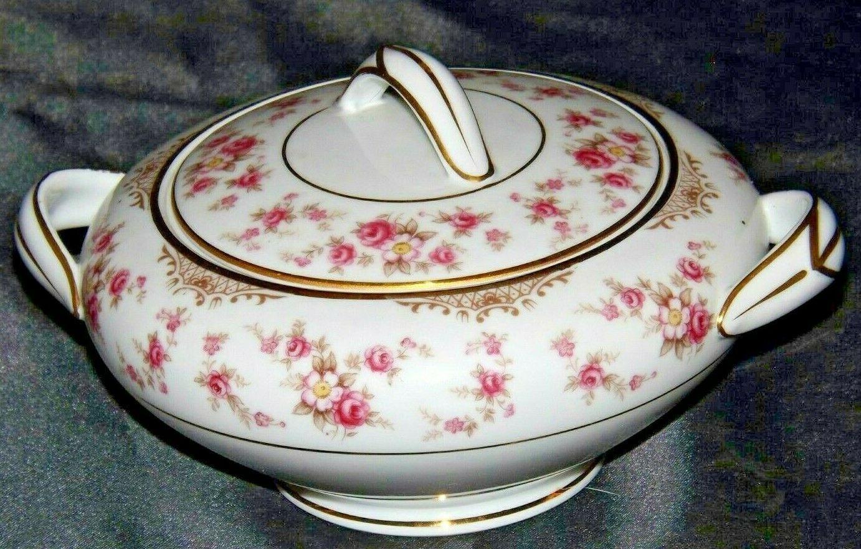 Noritake China (1 sugar with lid) Charmaine 5506 AA20-2360J Vintage