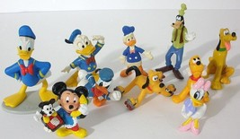 10 Disney Mickey Mouse And Friends Collectible PVC Figures - $19.80