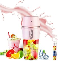 Portable Mini Blender Juicer Cup Smoothie Squeezer Mixer USB Rechargeable - $23.10