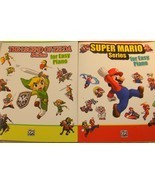 Zelda, Super Mario - Video Gamers EASY PIANO Sheet Music Combo Pack ! Gift - $31.66