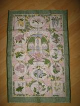 Bodnant Garden Souvenir Tea Towel - Vintage Sally Jane Textiles Colwyn Bay Wales image 5