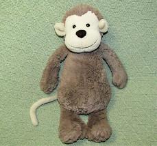 "12"" Jellycat Bashful Monkey Stuffed Animal Tan Brown Soft Baby Toy Ape Chimp - $13.86"
