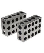 """BL-123 Pair of 1"""" x 2"""" x 3"""" Precision Steel 1-2-3 Blocks - $25.20"""