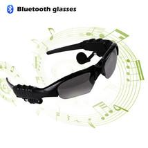 Bluetooth Sunglasses Headset Outdoor  Earbuds Music Stereo Wireless Headphone - $43.99