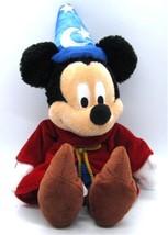Walt Disney World MICKEY MOUSE as Sorcerer's Apprentice Beanbag Plush So... - $14.24