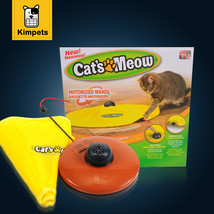 Cat Toy Undercover Nylon Fabric Moving Mouse Interactive Play Meow Cat Toy - $17.85