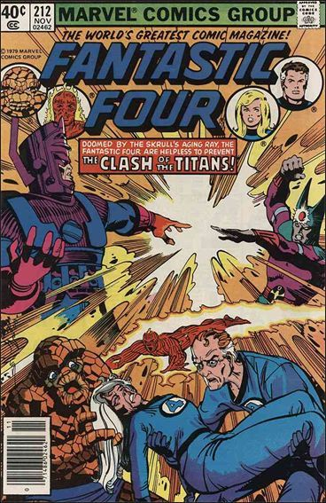 Marvel FANTASTIC FOUR (1961 Series) #212 FN+
