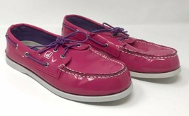 Sperry Women's Top-Sider Jeffery Sz 6.5M Pink Patent Leather Loafers Boa... - $4.99