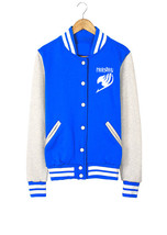 Fairy Tail baseball uniform Jacket Sport Outfit - $45.99