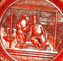 """The Betrayal""""  Commemorative Plate by The Ming Dynasty AA20-CP2335 Vintage Calho image 2"""