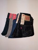 Levi's 511 jeans 30 x 32 Slim Fit Style 4 pairs blue grey dark rinse - $147.00