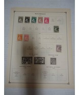 Vintage Mozambique Postage Stamps 1913-1922 On Page Lot of 13 - $15.08
