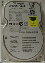 8.6GB 3.5in IDE Drive Seagate ST38641A Tested Good Free USA Ship Our Drives Work