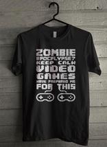 Zombie Apocalypse - Custom Men's T-Shirt (3673) - $19.13+