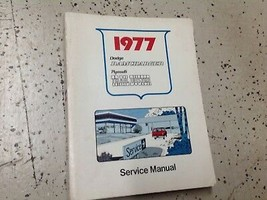 1977 Dodge Ramcharger Truck 100 400 Trail Duster Service Shop Reparatur ... - $89.09