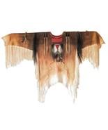 Men's New Handmade Native American Mountain Man Leather Fringe Shirt NA26 - $157.41