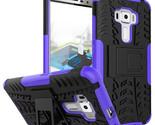 kickstand cover case for asus zenfone 3 ze552kl 5 5inch purple p20160708155307336 thumb155 crop