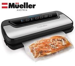 Vacuum Sealer Machine By Mueller | Automatic Vacuum Air Sealing System For Food