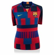 Lionel Messi Signed FC Barcelona Home Jersey Nike 20 Year Anniversary Sp... - $985.05