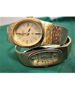 Pulsar & Citizen Women's Watches with Gold Plated Clasp Bands for Parts ... - $11.88