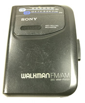 Sony Walkman Vintage WM-FX101 Cassette Tape AM/FM Music Player - $14.50