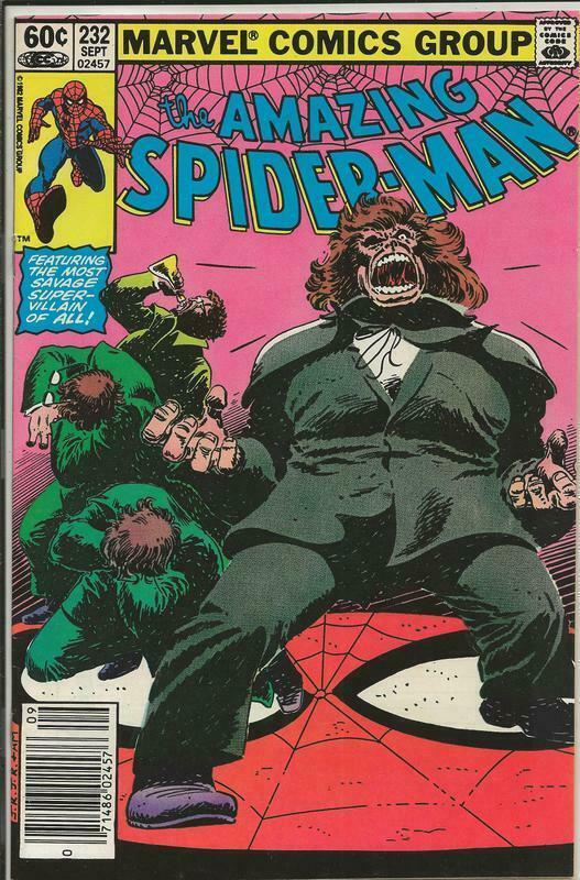 Primary image for Amazing Spider-Man #232 ORIGINAL Vintage 1982 Marvel Comics Newsstand